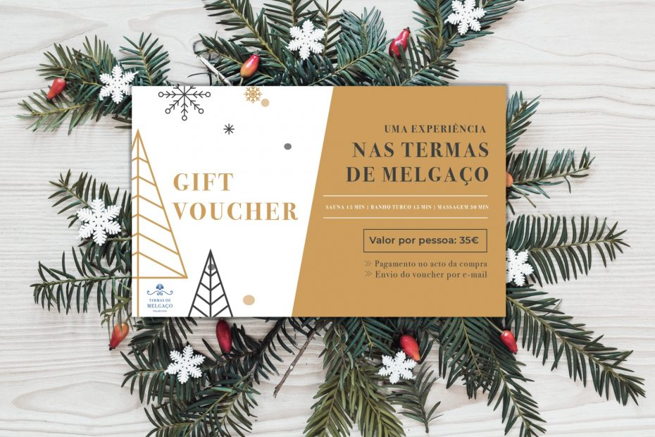 Gift voucher natal termas de melgaço